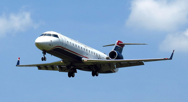 US Airways Express CRJ-200 passenger jet
