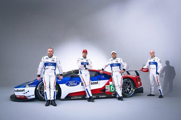 チップ・ガナッシ、新型「フォードGT」でル・マンに参戦する4名のドライバーを発表