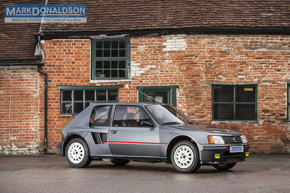 Iconic Peugeot 205 T16 is the ultimate \'80s rally car for the road - AOL