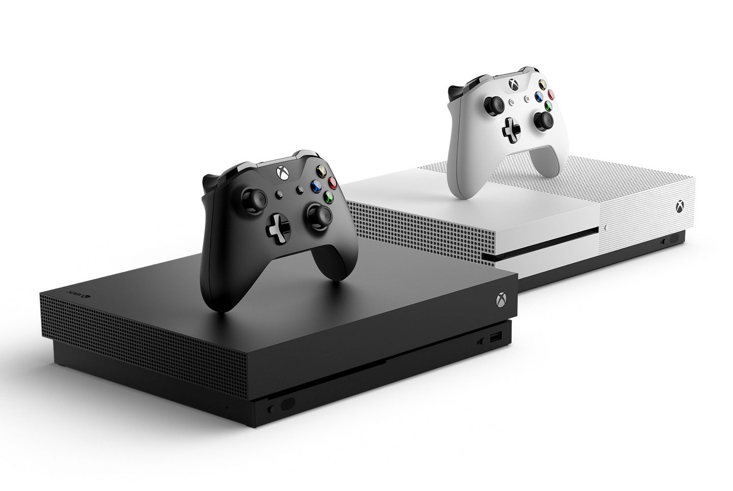 The Xbox One X Vs Original Whats Changed