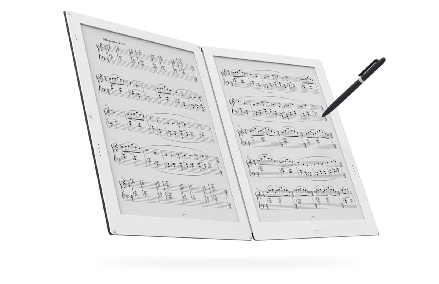 Gvido 電子紙樂譜平板上市價位確定為 US$1,600