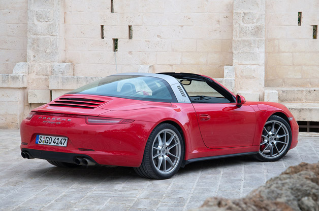 2014 porsche 911 targa first drive autoblog. Black Bedroom Furniture Sets. Home Design Ideas