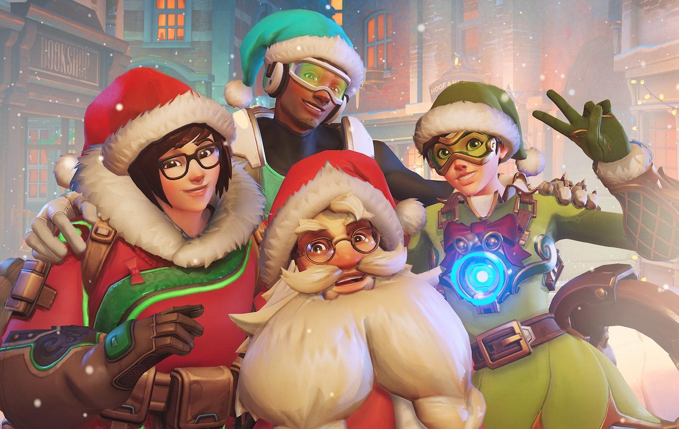 Overwatch Christmas.Overwatch Unleashes Winter Wonderland Event