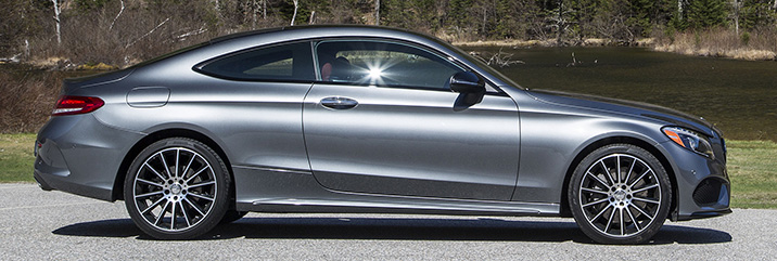 2017 Mercedes Benz C300 Coupe