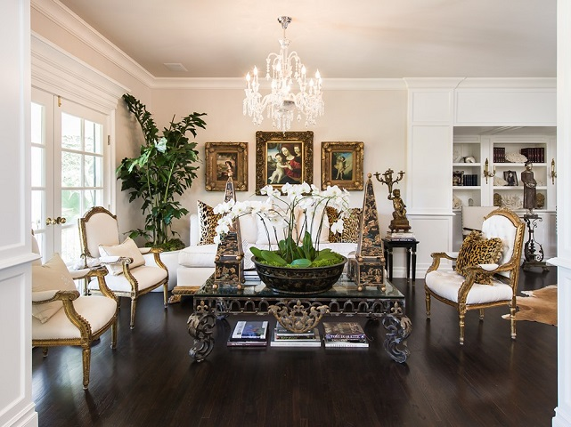 faye resnick living room
