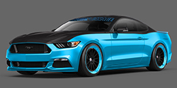 2015 Ford Mustang Petty Garage show car for SEMA 2014 - rendering