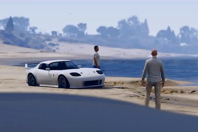 【ビデオ】ビデオゲーム『GTA』の中で、『ワイルド・スピード』の故ポール・ウォーカーが蘇る!
