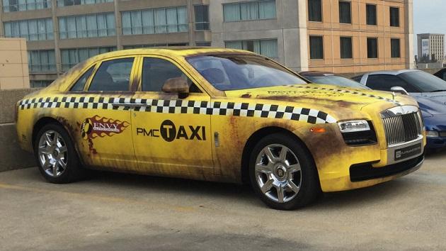 あのロールス・ロイス「ゴースト」が、クレイジーなタクシーに大変身!