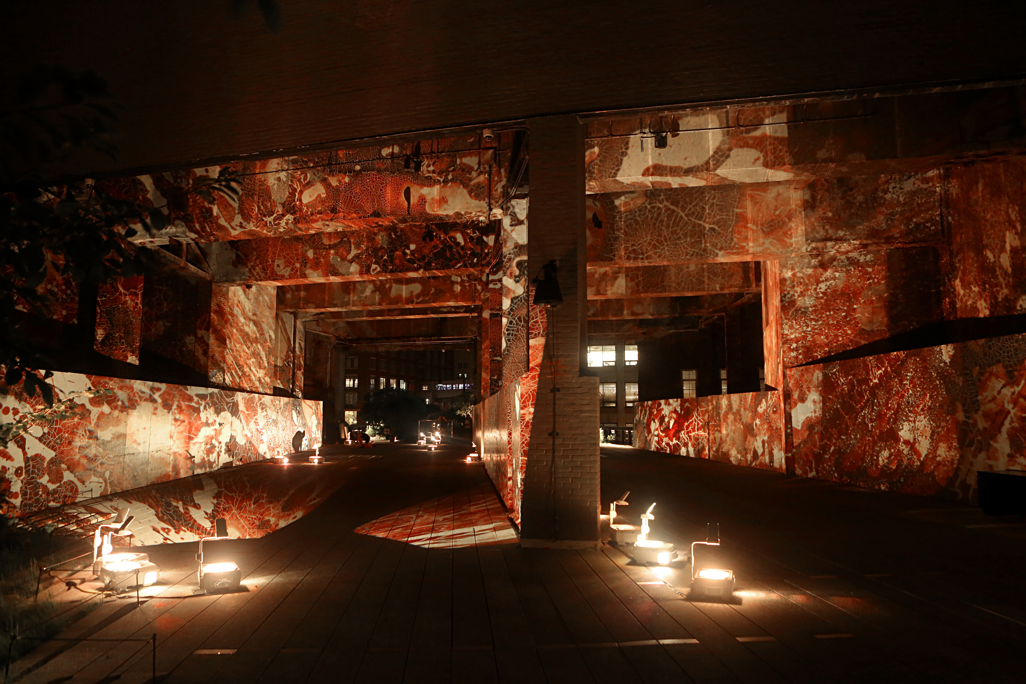 Renowned New York artist Jordan Eagles projects powerful illuminations of blood from gay, bisexual and...