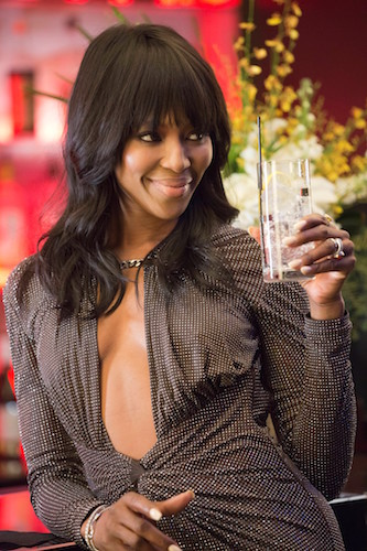"""EMPIRE: Camilla (guest star Naomi Campbell) attends a showcase in the """"Our Dancing Days"""" episode airing Wednesday, Feb. 18 (9:01-10:00 PM ET/PT) on FOX. ©2014 Fox Broadcasting Co. CR: Chuck Hodes/FOX"""