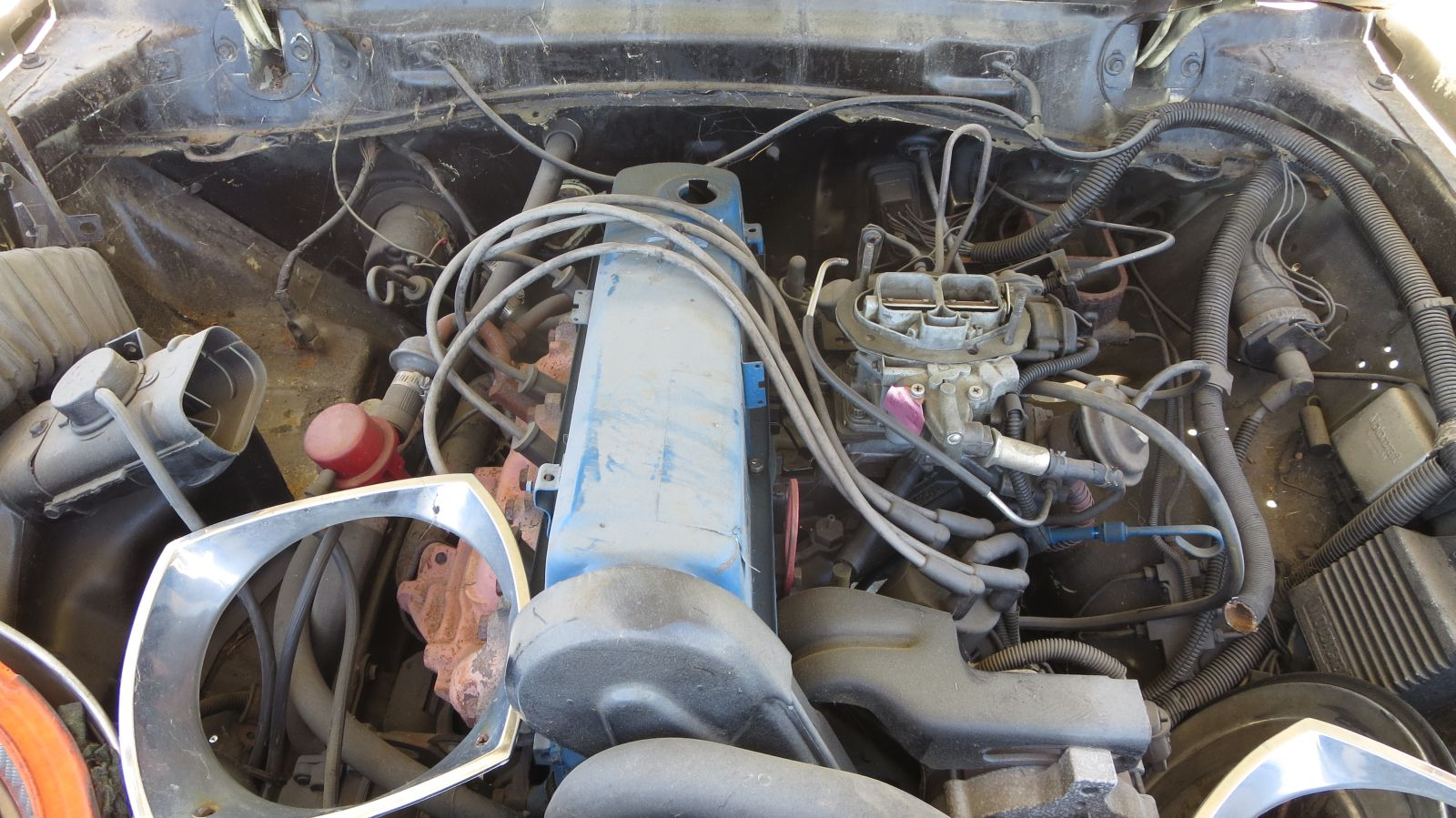 Ford 2300 Pinto engine in 1977 Mustang