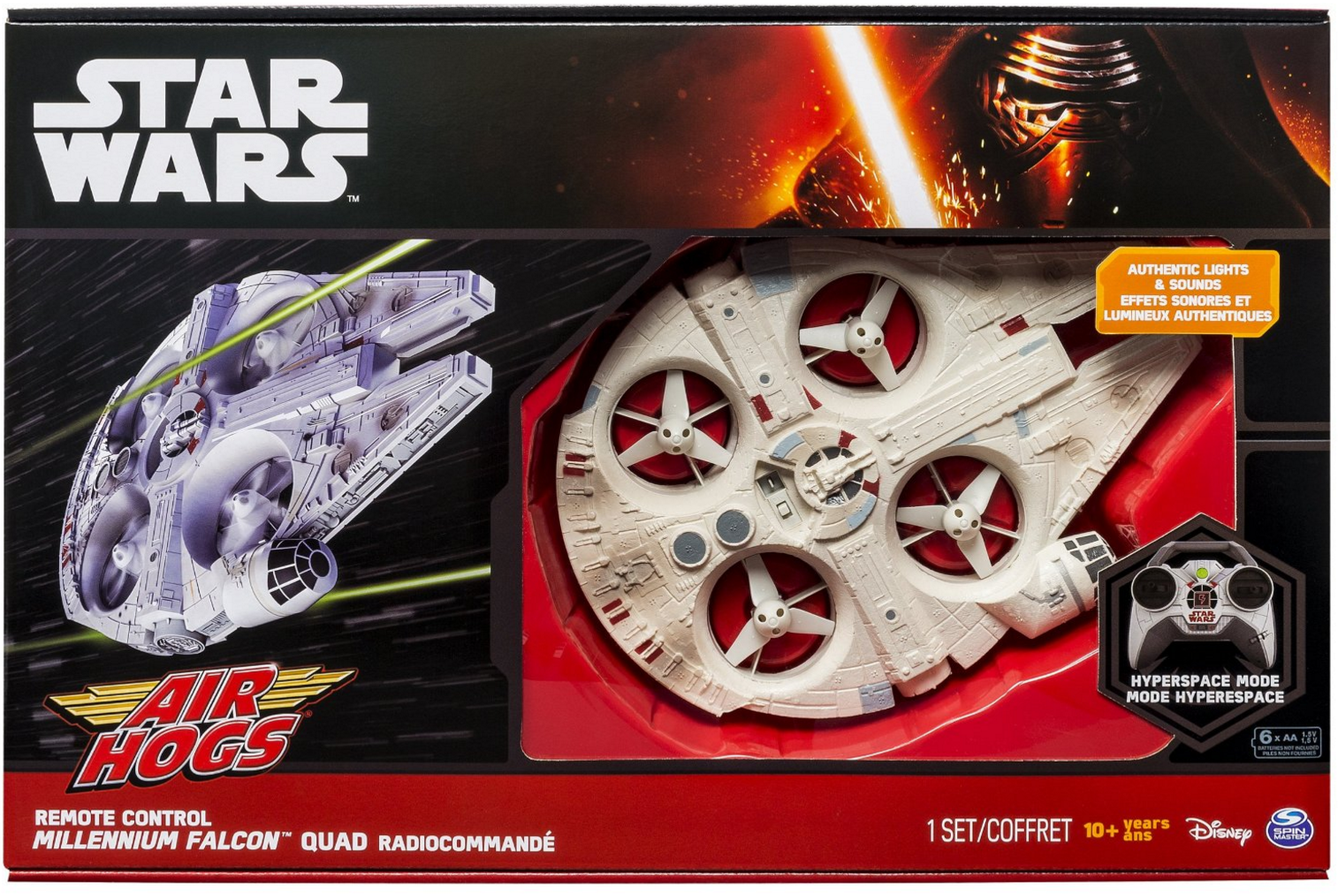 Air Hogs Millenium Falcon