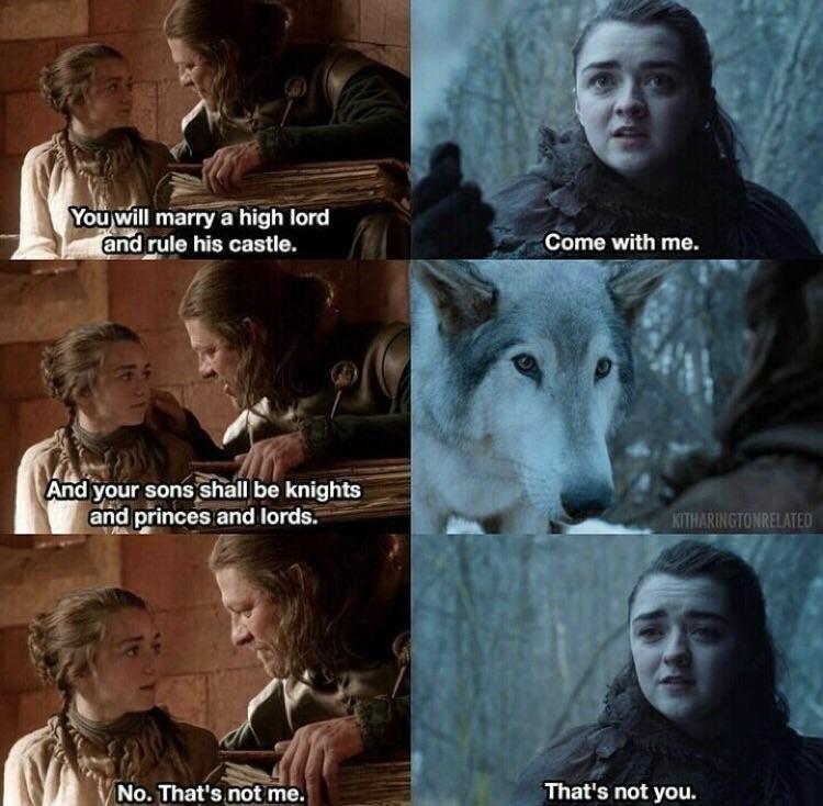 Game of Thrones: cette phrase d'Arya Stark qui fait écho à la saison 1 n'est pas anodine [ATTENTION