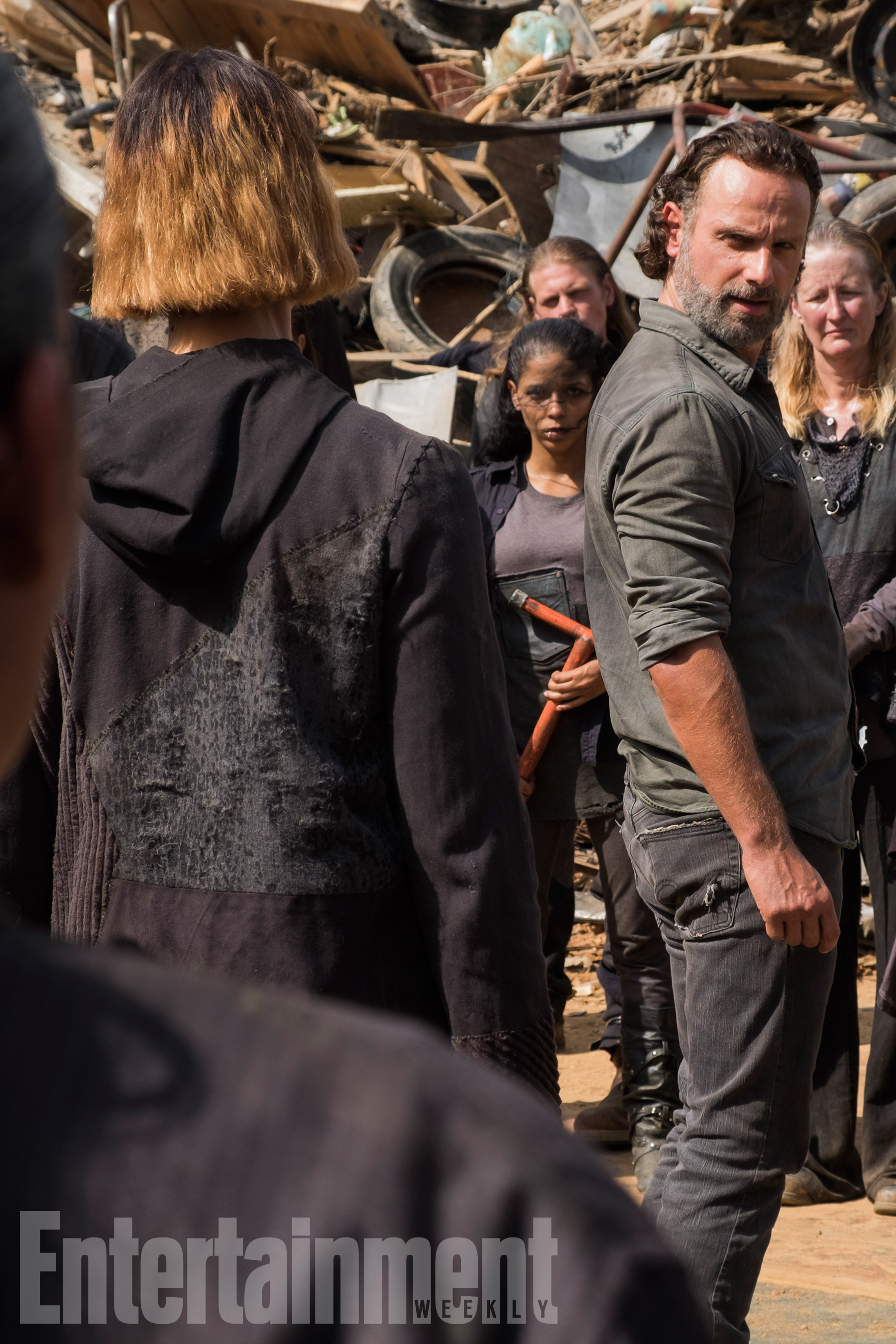 The Walkign Dead (2017)Season 7, Episode 10Andrew Lincoln as Rick Grimes