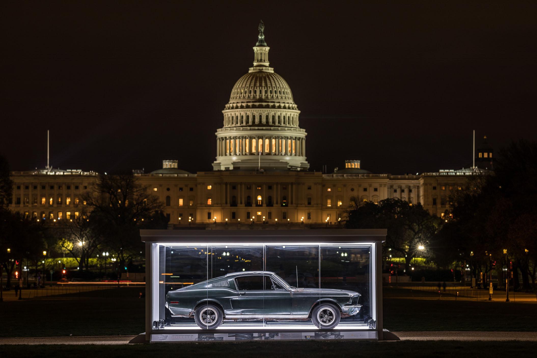Bullitt on Display at National Mall