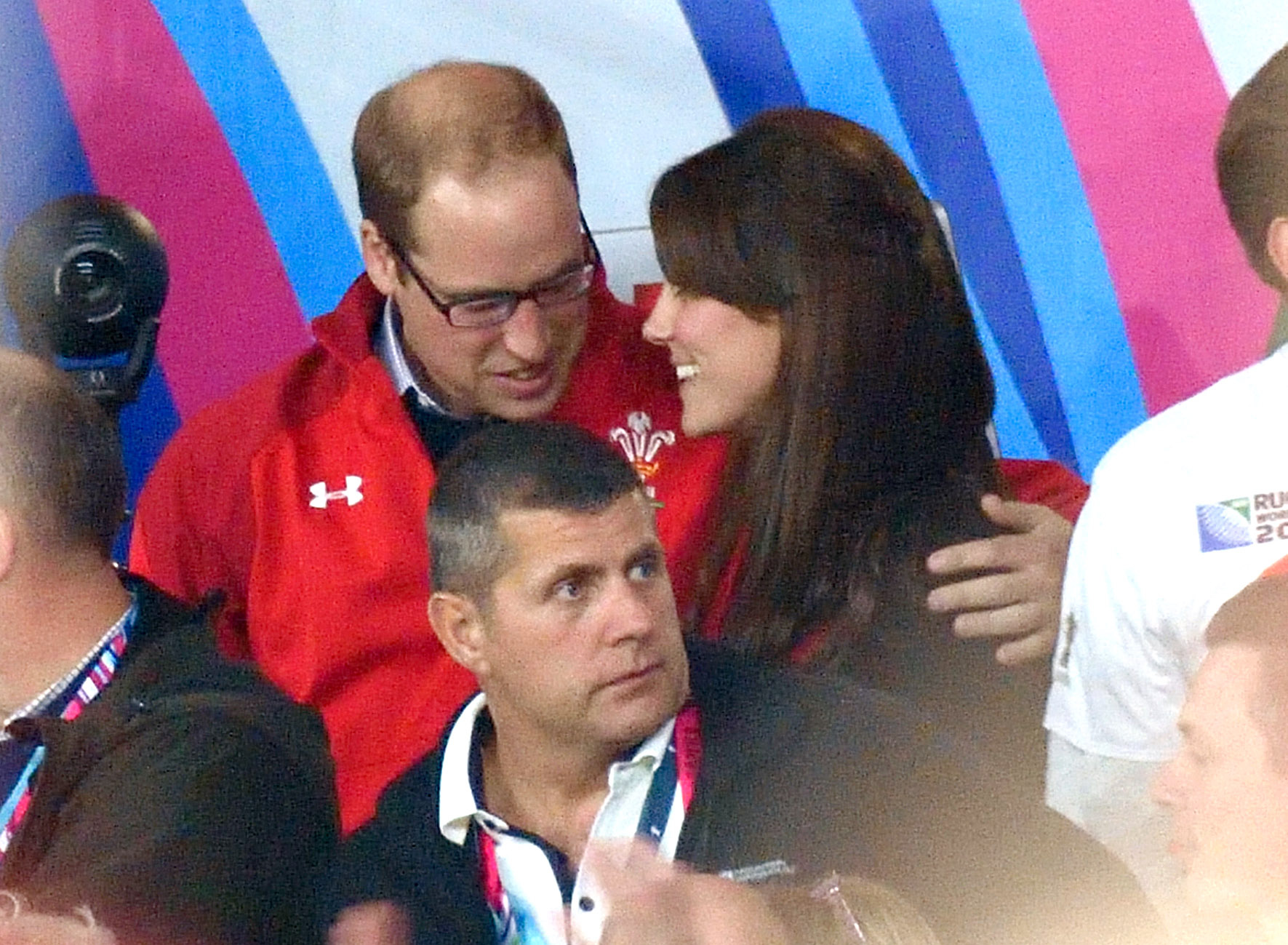 The Duke and Duchess of Cambridge are positively adorable during the Rugby World Cup