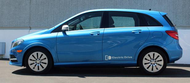 2014 Mercedes-Benz B-Class Electric Drive
