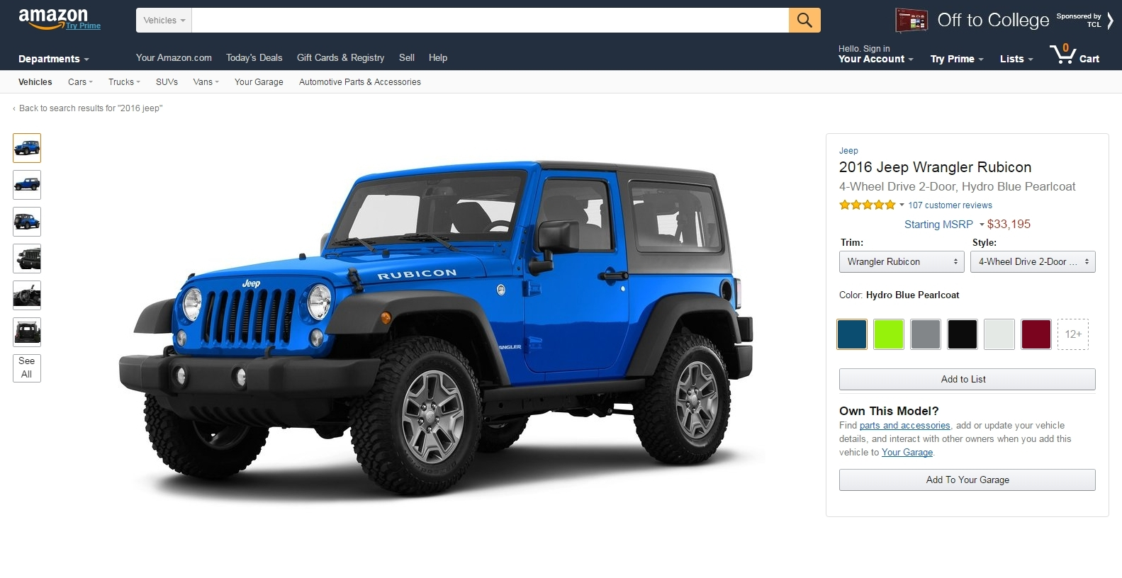 Amazon announces a special forum just for car enthusiasts