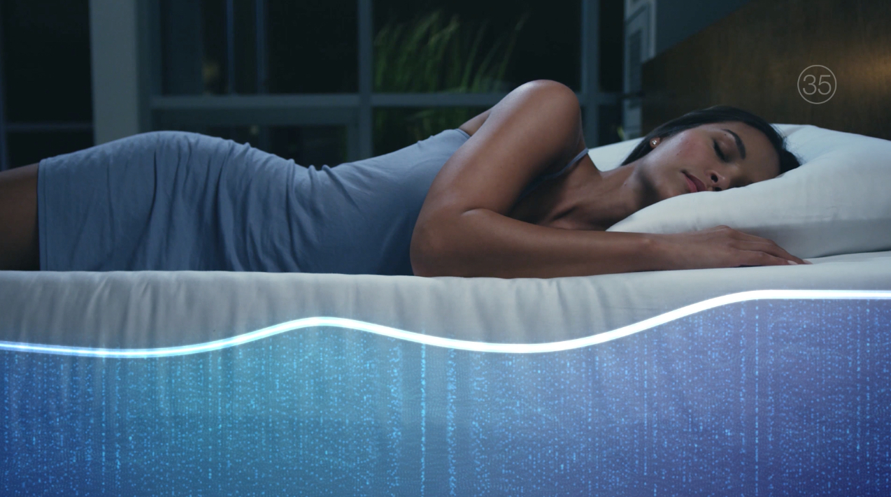 Sleep Number 360 Smart Bed Auto Adjusts for a More Restful Sleep