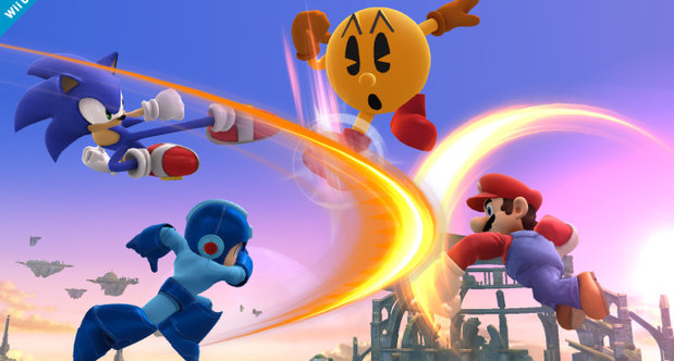 Pac-Man joins Smash Bros.