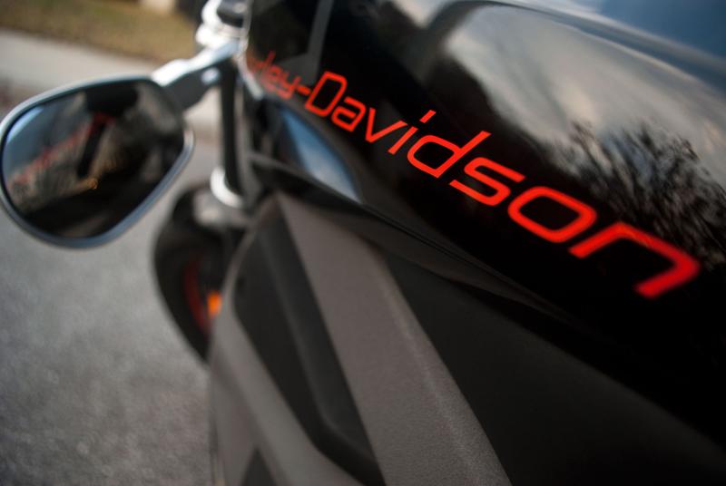 Harley-Davidson Livewire not-a-gas-tank