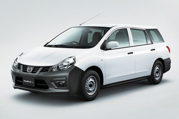 マツダ、商用車「ファミリアバン」をマイナーチェンジ 各種安全機能が標準装備に