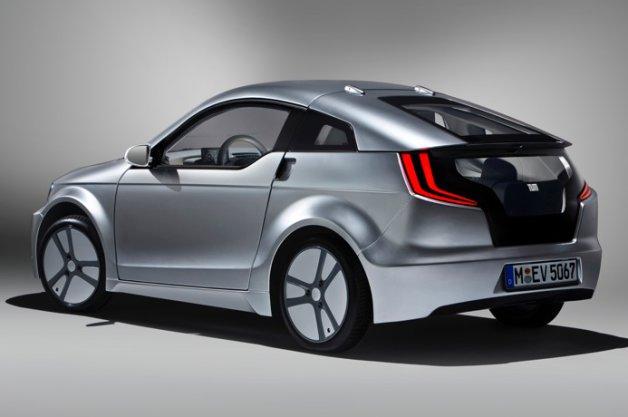 新素材の軽量樹脂を使用したBMWの新型EV「Visio.M」コンセプト