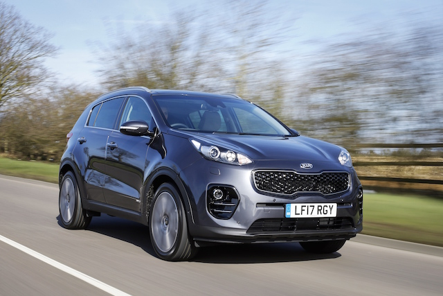 Kia Sportage crossover celebrates five million worldwide sales