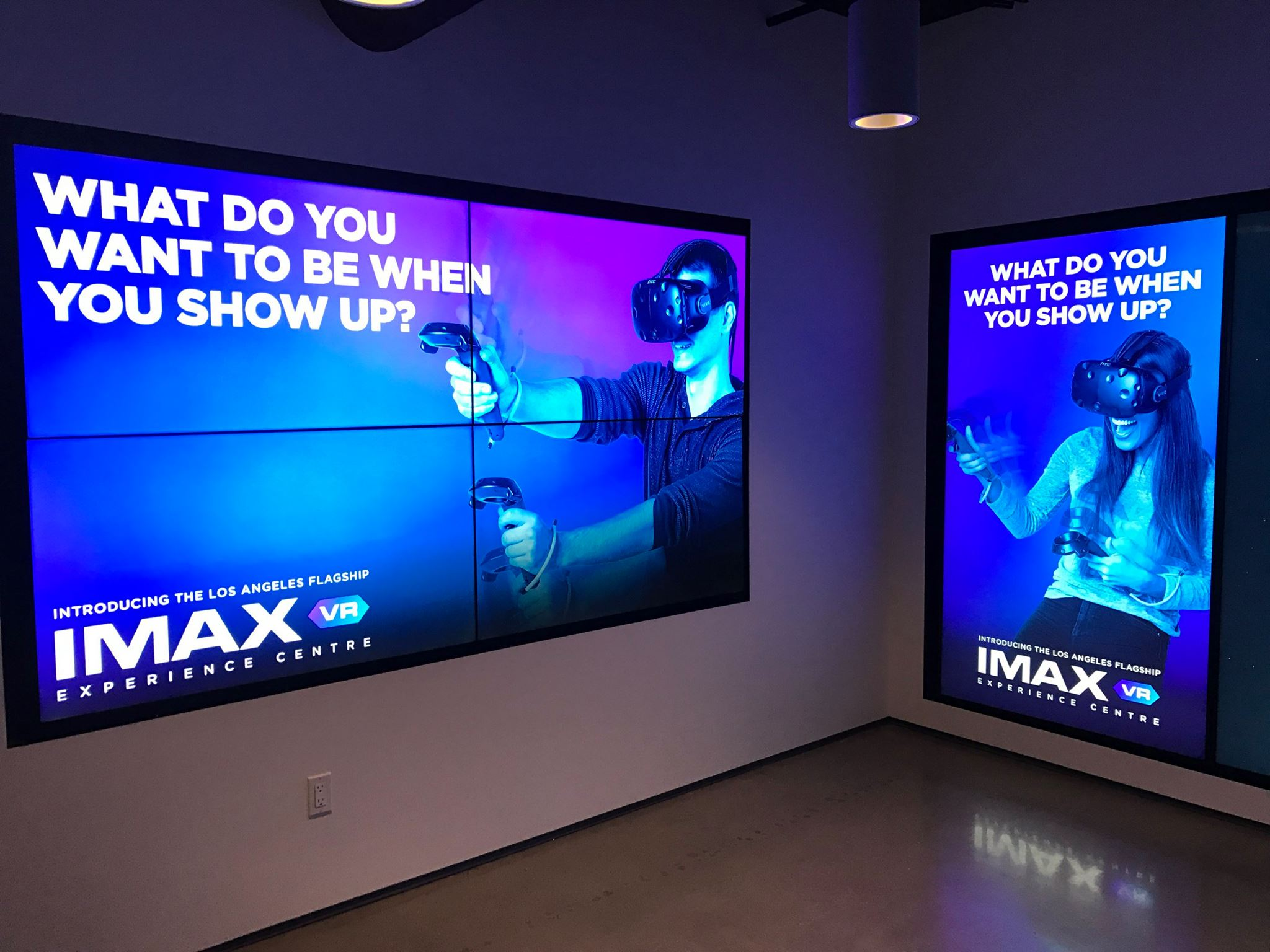 Imax Opens First Vr Theater In Los Angeles