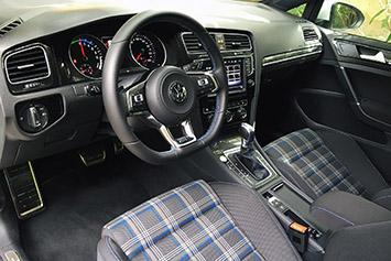 2016 volkswagen golf gte first drive w video autoblog. Black Bedroom Furniture Sets. Home Design Ideas