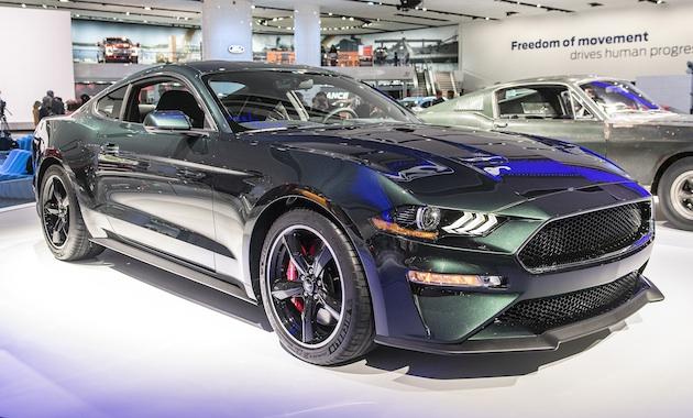 【北米国際オートショー2018】カーチェイスで有名な映画の公開50周年を記念して、フォードが限定モデル「マスタング・ブリット」を発表!