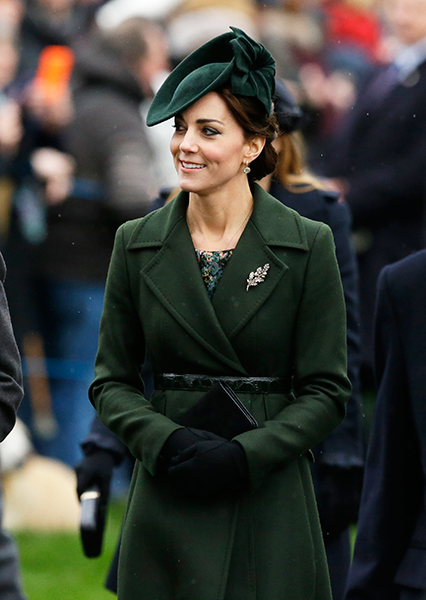 Kate Middleton on Christmas Day