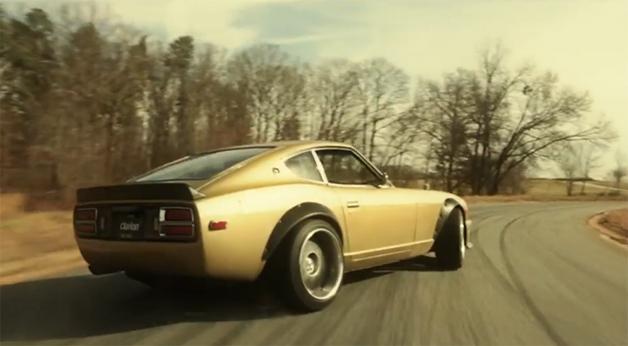 【ビデオ】フォーミュラDの有名ドライバーが75年式「フェアレディZ」でドリフト!