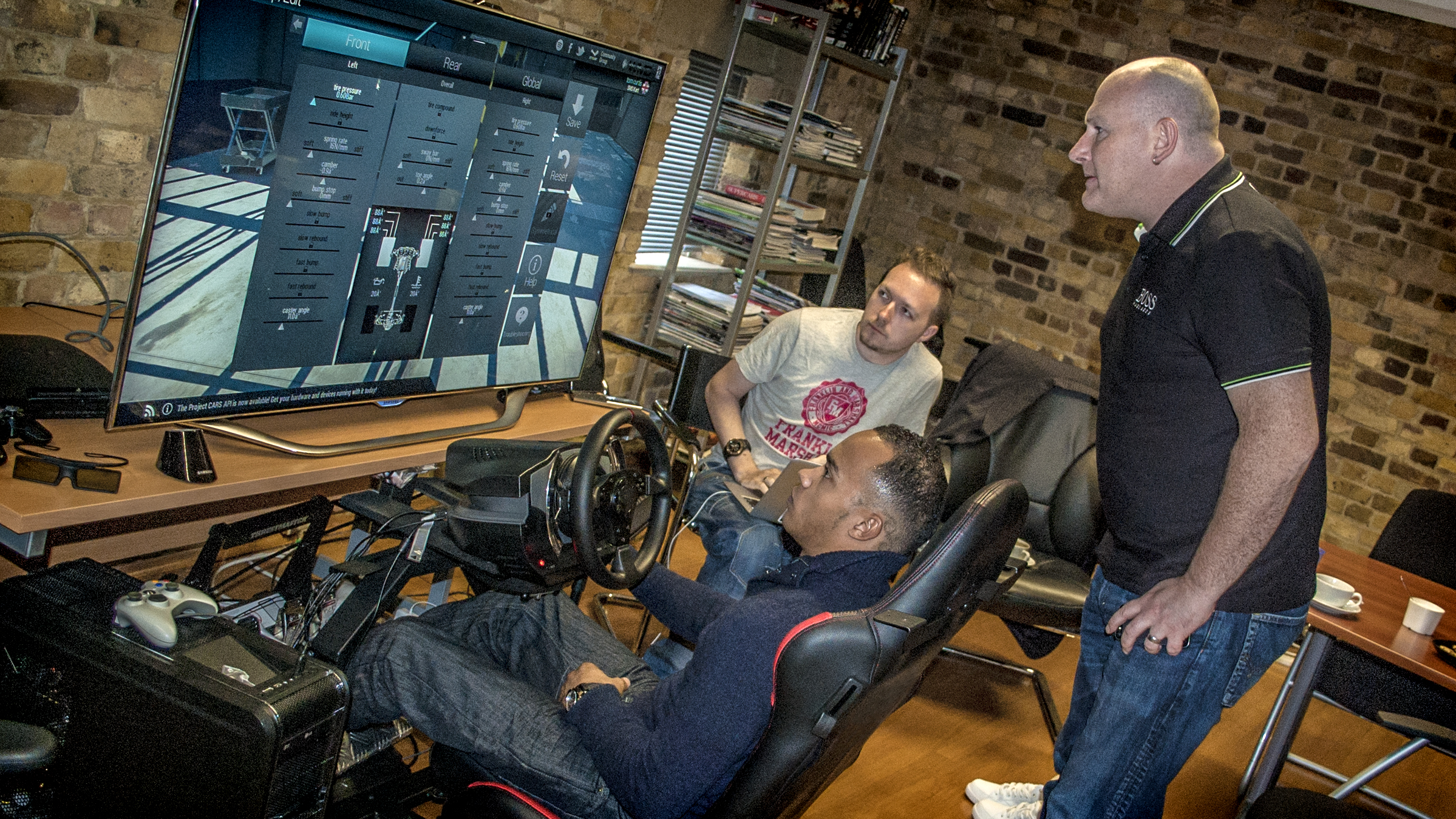Online gaming was his gateway to professional racing