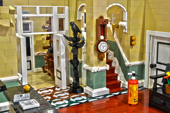 fawlty towers lego model
