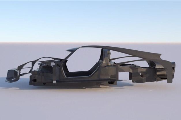 【ビデオ】ワンオフのフェラーリで有名な元映画監督がオリジナル車のシャシーを公開