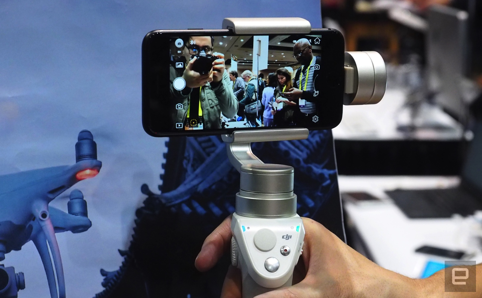 Dji Gives Its Osmo Mobile Stabilizer A Fresh Silver Look Free Base