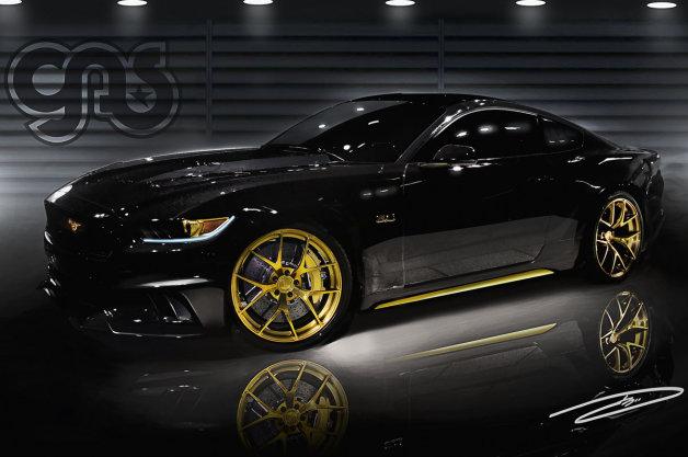 フォード、SEMAショーに新型「マスタング」のカスタムモデルを大量出展