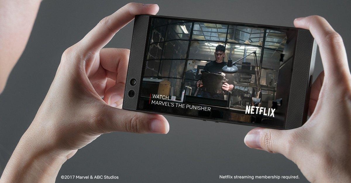 El Razer Phone ya puede ver vídeos en HDR con sonidos Dolby 5.1 desde Netflix