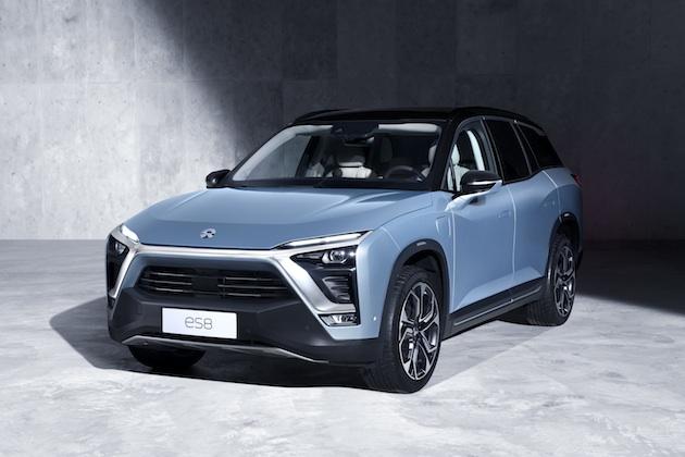 NIOの電動クロスオーバー「ES8」、まずは中国で顧客に納車開始! 最高出力652psを発生しバッテリーは3分で交換可能