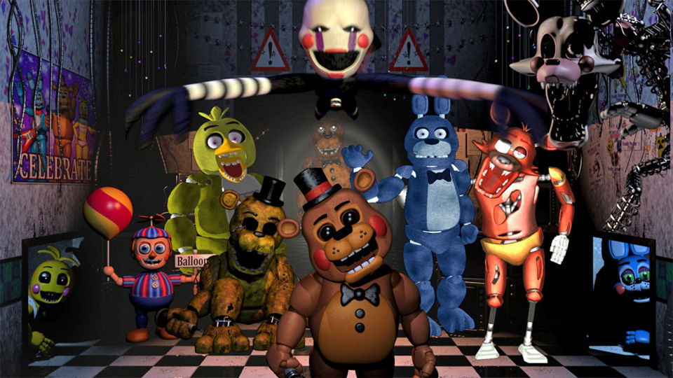 Five Nights At Freddys World Removed From Steam