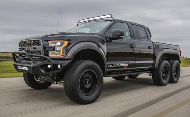 6輪駆動で600馬力のヘネシー「VelociRaptor 6x6」が生産開始 50台限定で価格は約4,000万円