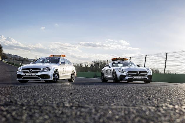 2台の新型メルセデスAMGが、2015年のF1セーフティカーとメディカルカーに