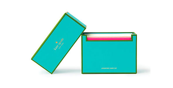 Stationery so cute youll want to write someone a letter kate spade spiritdancerdesigns Gallery