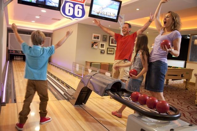 bowling at Cheddar Woods Resort & Spa