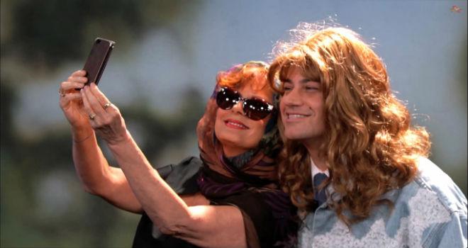 Susan Sarandon, Jimmy Kimmel, Thelma & Louise, Selfie