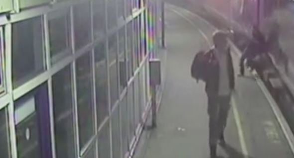 Drunk man falls under moving train in Manchester - and survives