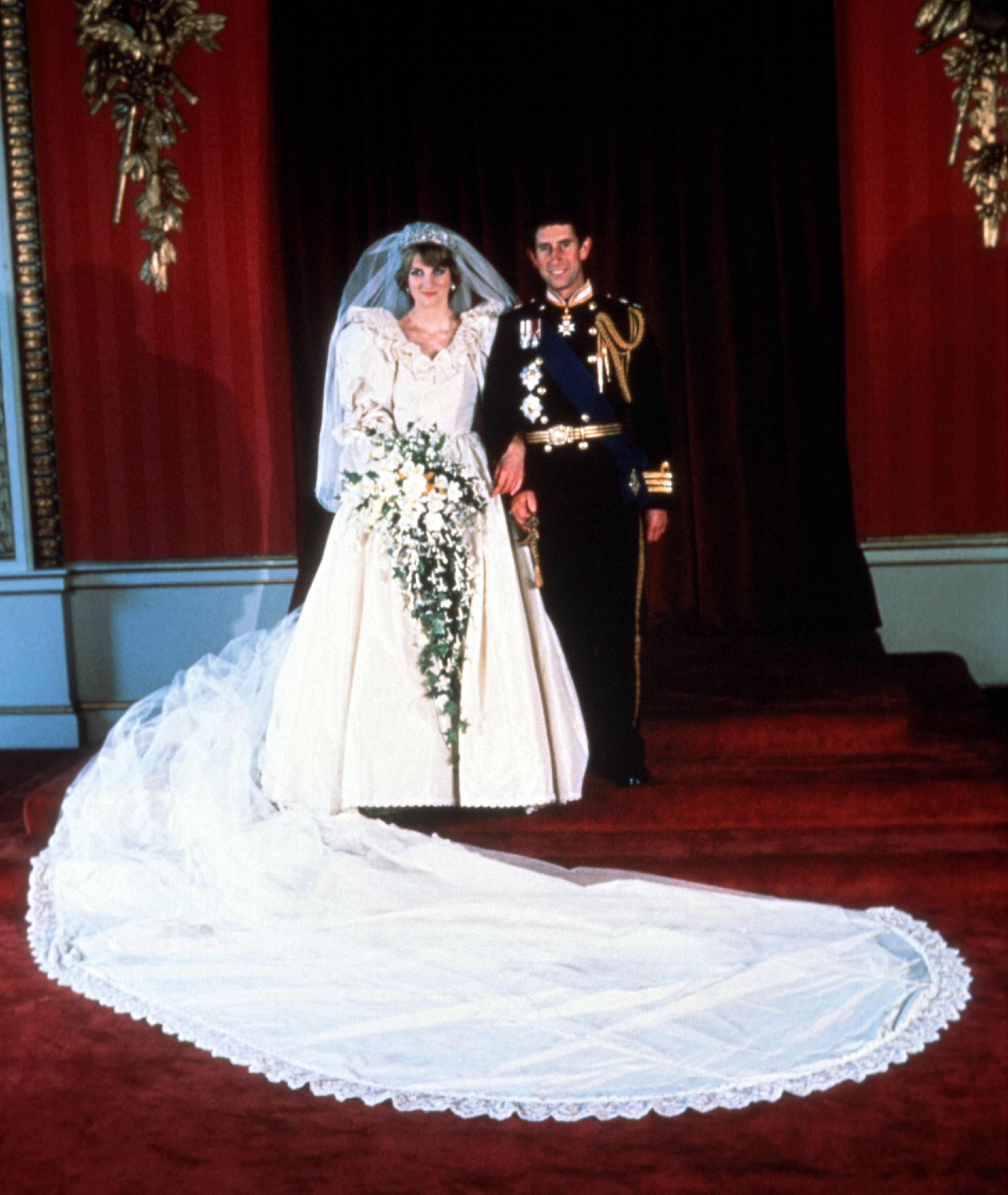 Prince Charles And Lady DianaS Wedding In 1981