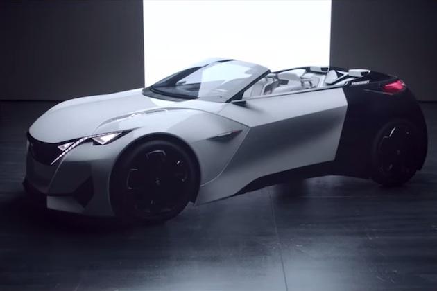 【ビデオ】プジョー、フランクフルトで発表するコンセプトカー「フラクタル」のティーザー映像を公開!