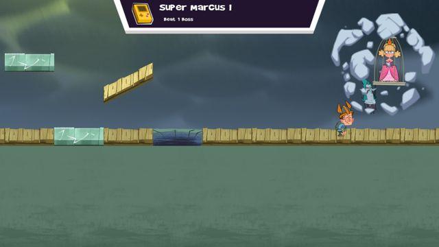 Marcus level screenshot